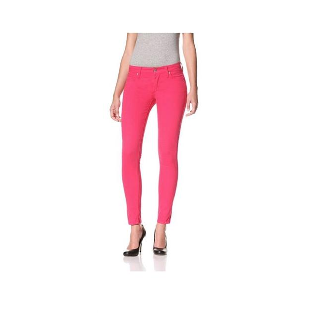 James Jeans Bright Colored Skinny Jeans-Coated Image 0