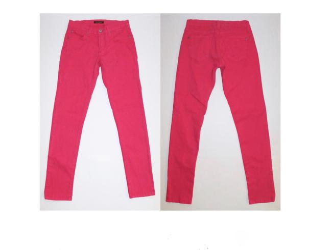 James Jeans Bright Colored Skinny Jeans-Coated Image 1