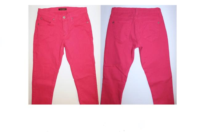 James Jeans Bright Colored Skinny Jeans-Coated Image 3