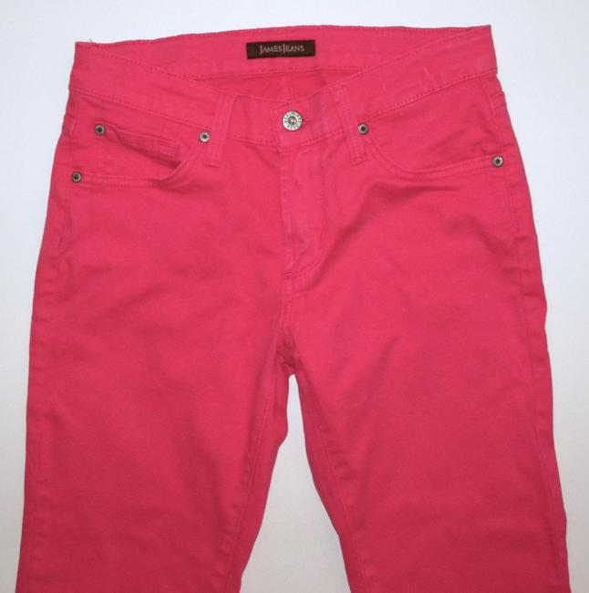 James Jeans Bright Colored Skinny Jeans-Coated Image 4