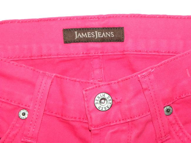 James Jeans Bright Colored Skinny Jeans-Coated Image 7