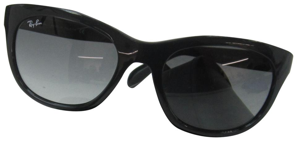 40e6724c74 Ray-Ban Rb 4216 601 11 Women s Black Green Italy Olb342 Sunglasses ...