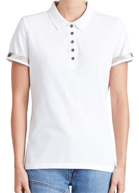 Preload https://img-static.tradesy.com/item/23624408/burberry-white-new-slim-fit-polo-with-check-under-collar-tee-shirt-size-0-xs-0-3-650-650.jpg