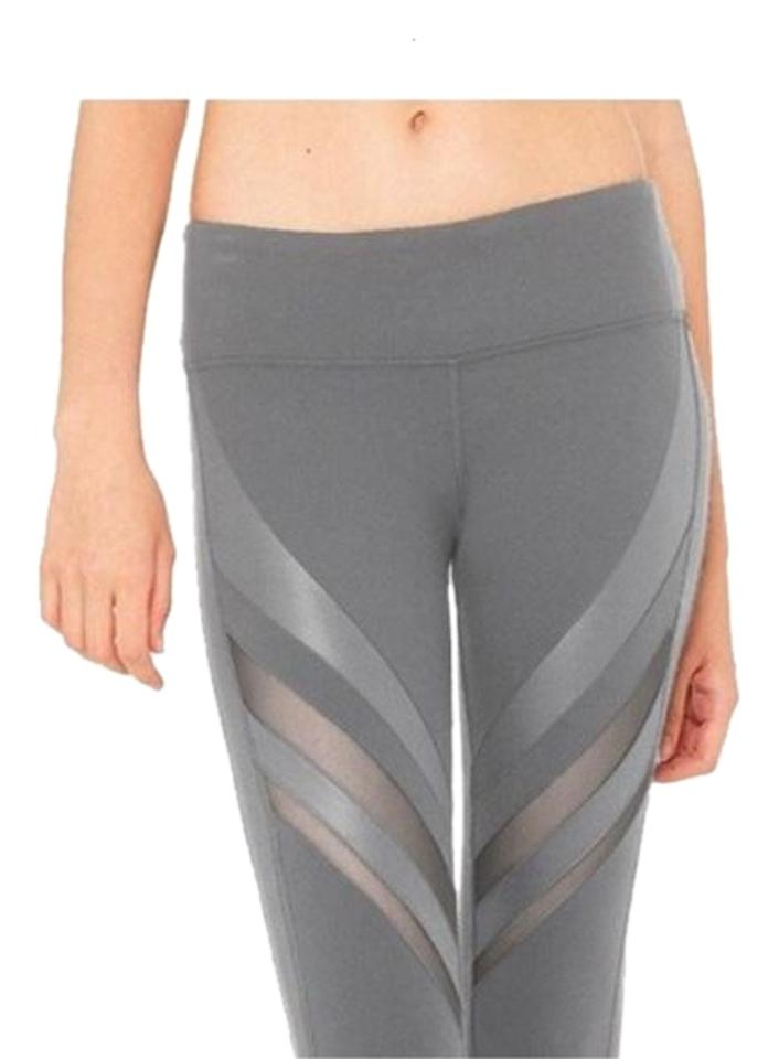 9e83f3a4d1 Alo Gray High Waisted Epic In Activewear Bottoms Size 6 (S, 28 ...