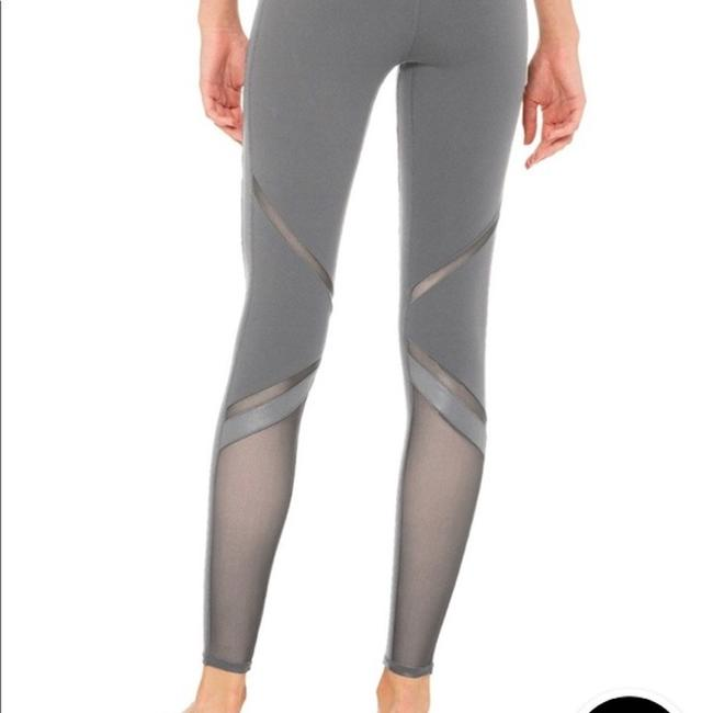 Alo High Waisted Epic Leggings in Gray Nwt Image 1