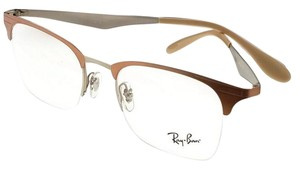 Ray-Ban RX6360-2920-51 Highstreet Unisex Brown Frame Clear lens Eyeglasses
