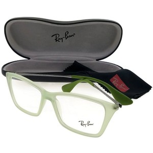 Ray-Ban RX7022-5366-54 Shirley Women's Green Frame Clear lens Eyeglasses