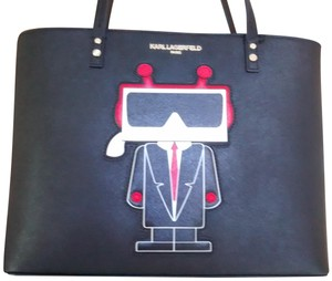 Karl Lagerfeld Unique Style Tote in Black