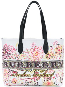 Burberry Doodle Reversible Reversible Tote
