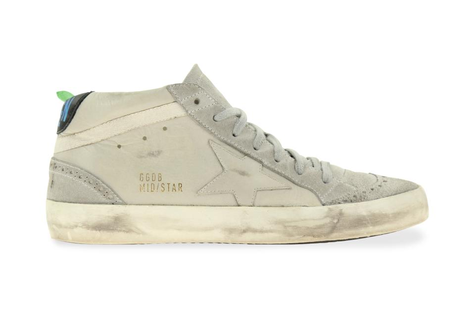 80ac7ce11be4 Golden Goose Deluxe Brand Grey Mid Star Sneakers Size EU 38 (Approx ...