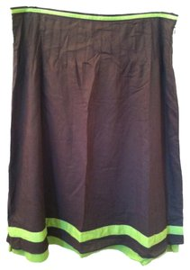Tory Burch Skirt Brown Green