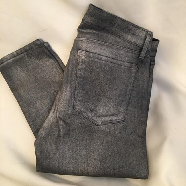 J Brand Gray Coated Stacked Midnight Metal Skinny Jeans Size 28 (4, S) J Brand Gray Coated Stacked Midnight Metal Skinny Jeans Size 28 (4, S) Image 3