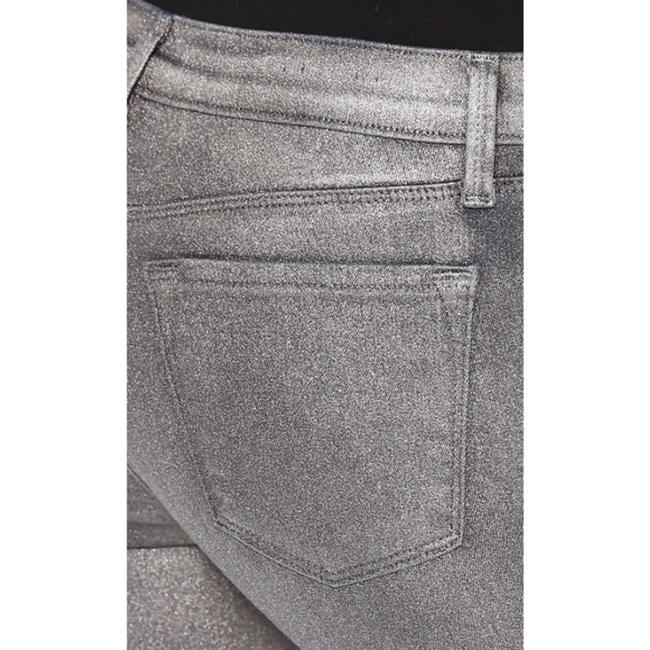 J Brand Gray Coated Stacked Midnight Metal Skinny Jeans Size 28 (4, S) J Brand Gray Coated Stacked Midnight Metal Skinny Jeans Size 28 (4, S) Image 4