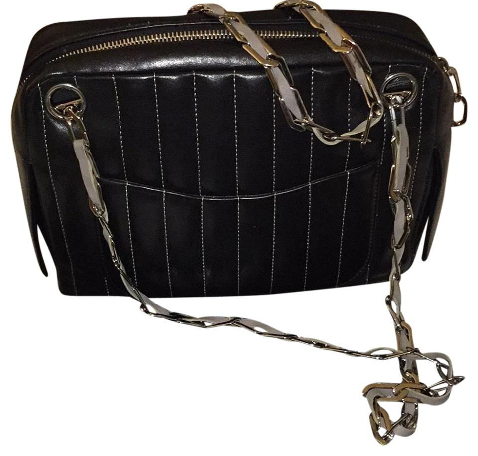 bb34fd08850b Chanel Mademoiselle Camera Vertical Quilted Small Black Lambskin ...