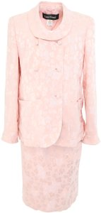 Louis Feraud Louis Feraud Silk Blend Skirt Suit