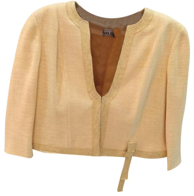 Item - Yellow Butter Skirt Suit Size 14 (L)