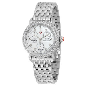Michele CSX Diamond Mother of Pearl Watch