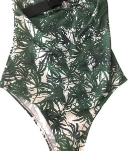 Daniela Corte jungle print one piece