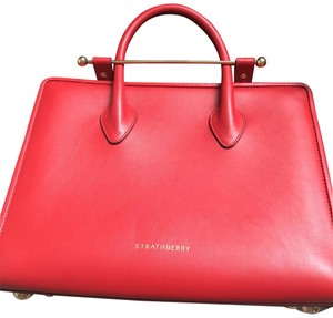 Strathberry Tote in Ruby