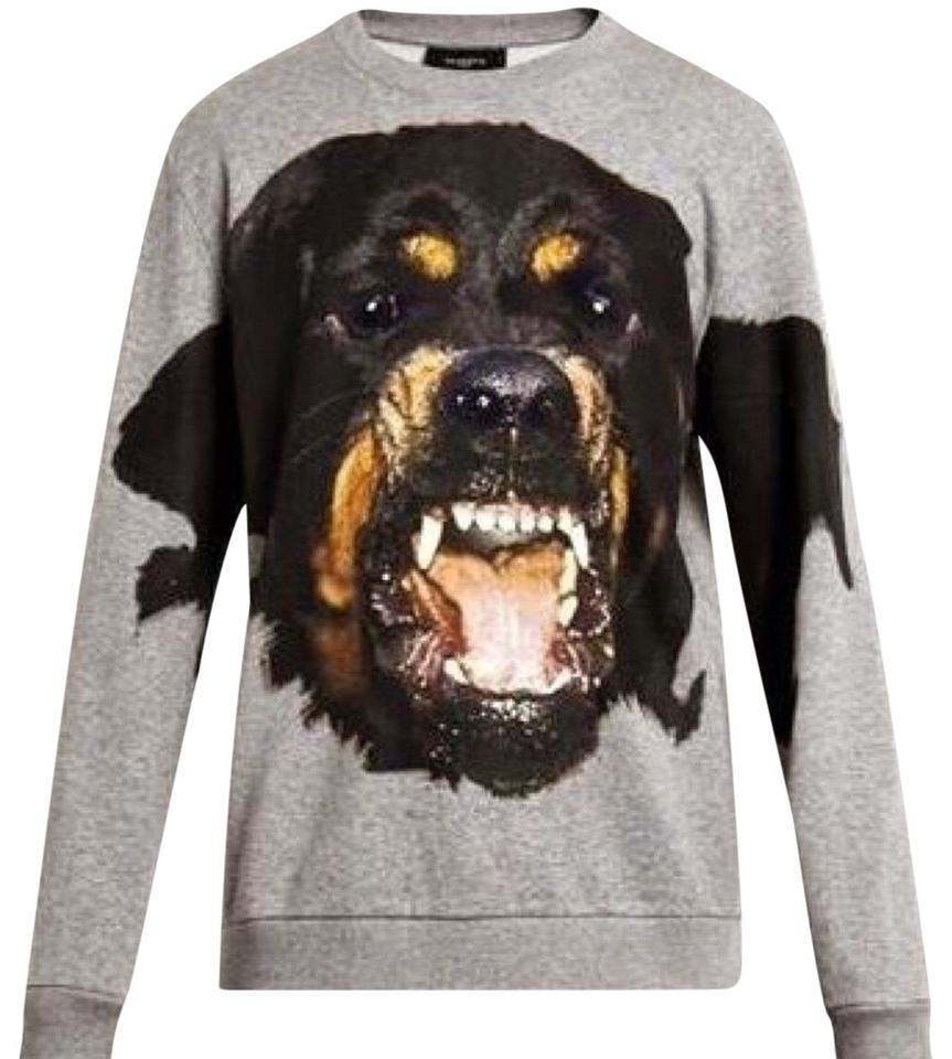 Givenchy Men s Rottweiler Gray Sweater - Tradesy c655d10b7cb5