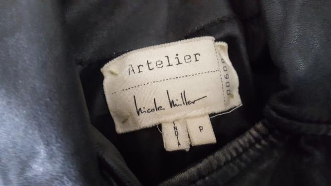 Nicole Miller Leather Jacket Image 5