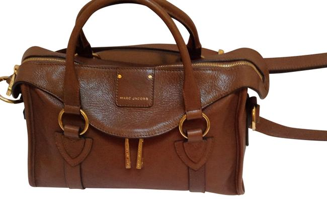 Item - Fulton Taupe Leather Satchel
