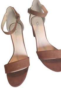 Chinese Laundry Sexy Vintage Tan/Beige Pumps