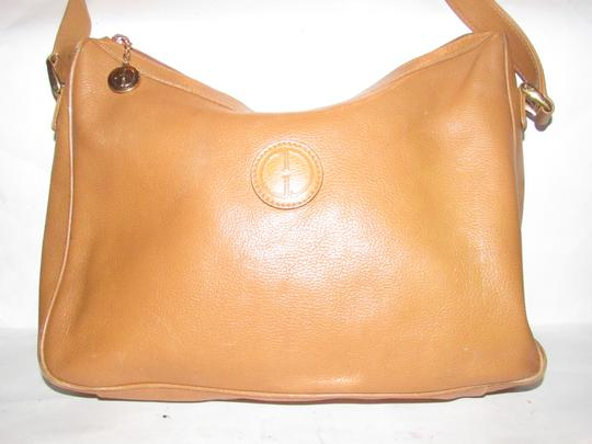 Gucci Excellent Vintage High-end Bohemian Great For Everyday Rare Color Gold Fob On Zipper Hobo Bag Image 1