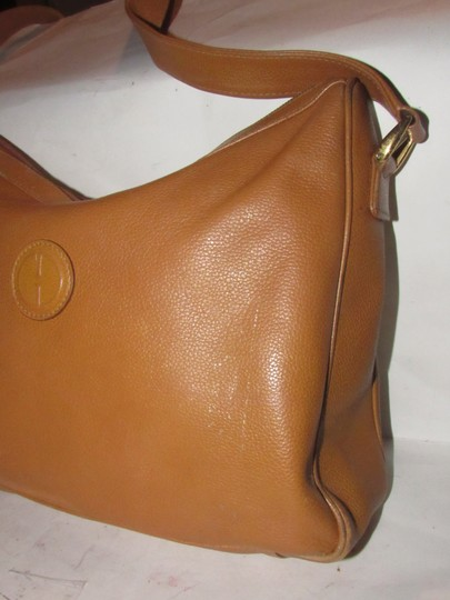 Gucci Excellent Vintage High-end Bohemian Great For Everyday Rare Color Gold Fob On Zipper Hobo Bag Image 7