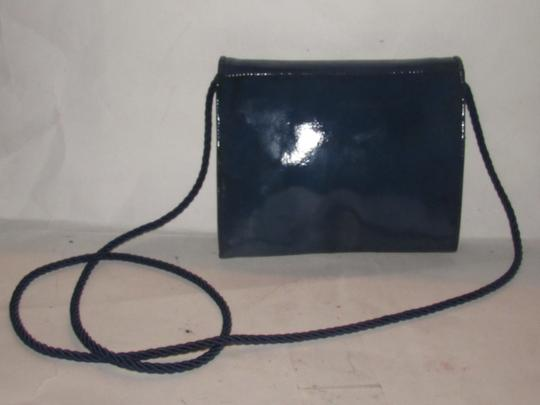 Fendi Mint Vintage Dressy Casual Clutch/Cross Lagerfield Influence Asian/Deco Look Cross Body Bag Image 5