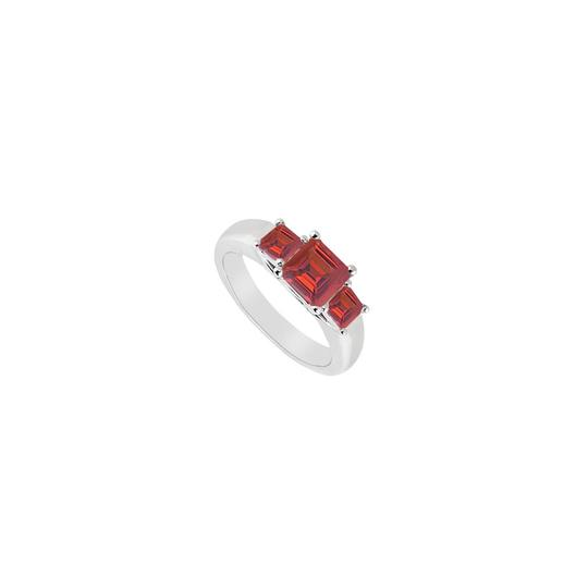 Preload https://img-static.tradesy.com/item/23626186/white-red-three-stone-created-ruby-925-sterling-silver-050-ct-tgw-ring-0-0-540-540.jpg
