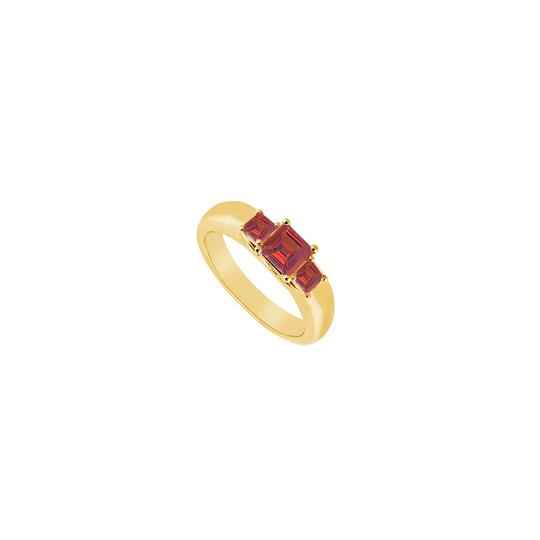 Preload https://img-static.tradesy.com/item/23626221/yellow-red-three-stone-created-ruby-gold-vermeil-025-ct-tgw-ring-0-0-540-540.jpg