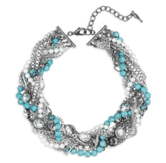 Preload https://img-static.tradesy.com/item/23626232/chloe-isabel-new-chloeisabel-turquoise-and-chain-torsade-necklace-0-0-540-540.jpg