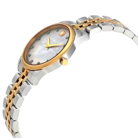 Movado MOVADO Museum Classic White Mother Of Pearl Dial Ladies Watch 0607077 Image 1