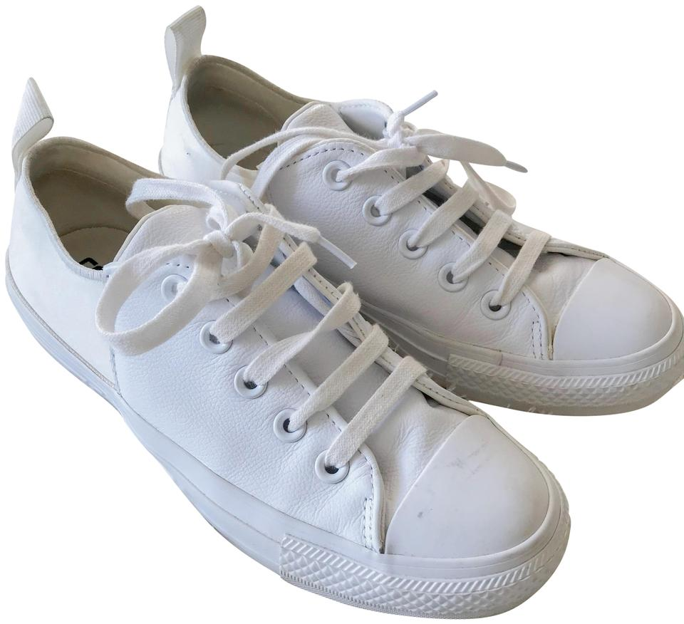Converse White All Star Sneakers. Size  US 6 Regular (M ... d832f0f9a
