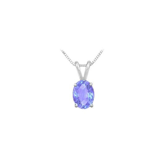 Preload https://img-static.tradesy.com/item/23626830/blue-created-tanzanite-solitaire-pendant-925-sterling-silver-100-ct-tgw-necklace-0-0-540-540.jpg