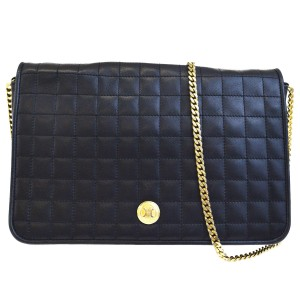 Céline Made In Italy Black Clutch