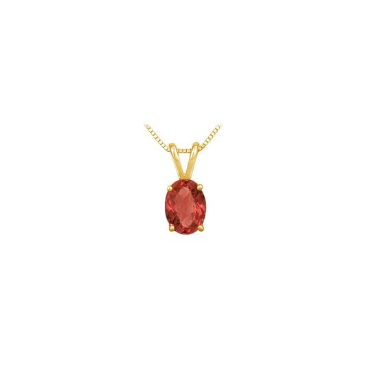 Preload https://img-static.tradesy.com/item/23626851/red-created-ruby-solitaire-pendant-yellow-gold-vermeil-100-ct-tgw-necklace-0-0-540-540.jpg
