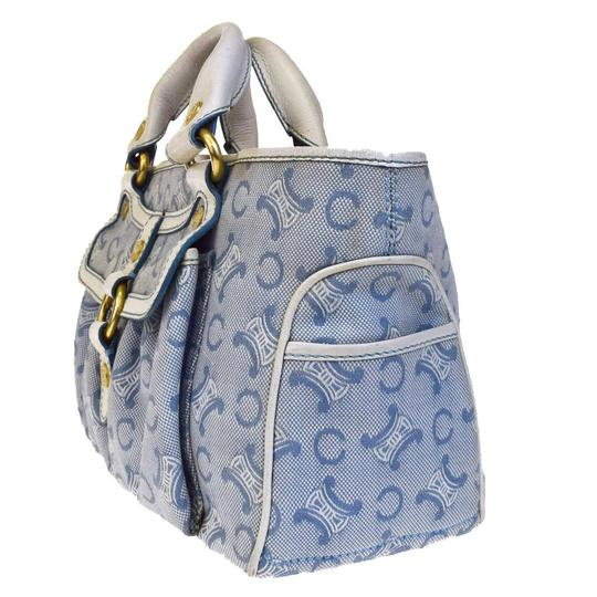 Céline Made In China Tote in Blue Image 1