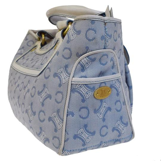 Céline Made In China Tote in Blue Image 3