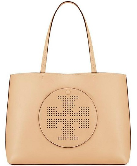 Tory Burch Tote in dune/navy Image 5