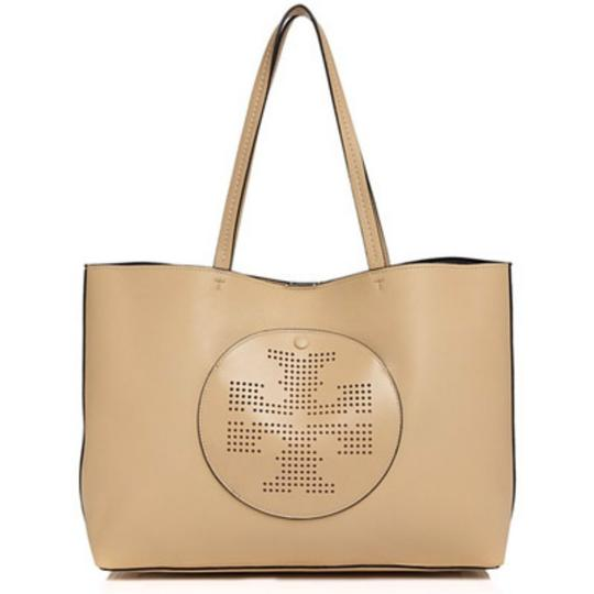 Tory Burch Tote in dune/navy Image 6