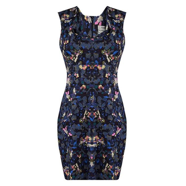 Preload https://img-static.tradesy.com/item/23626977/erdem-multicolor-floral-print-fitted-sleeveless-mid-length-short-casual-dress-size-10-m-0-0-650-650.jpg