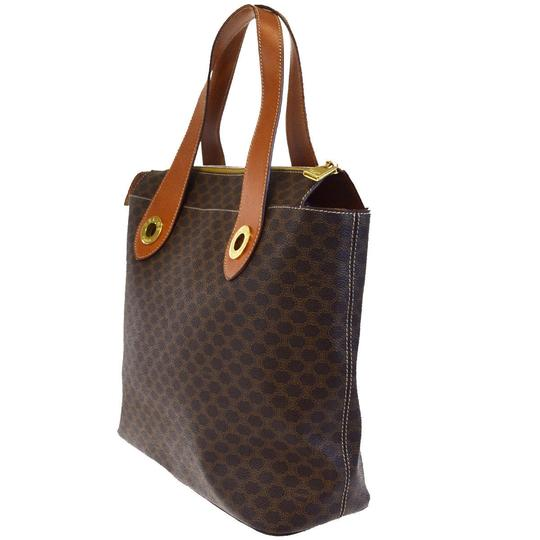 Céline Made In Italy Tote in Brown Image 1