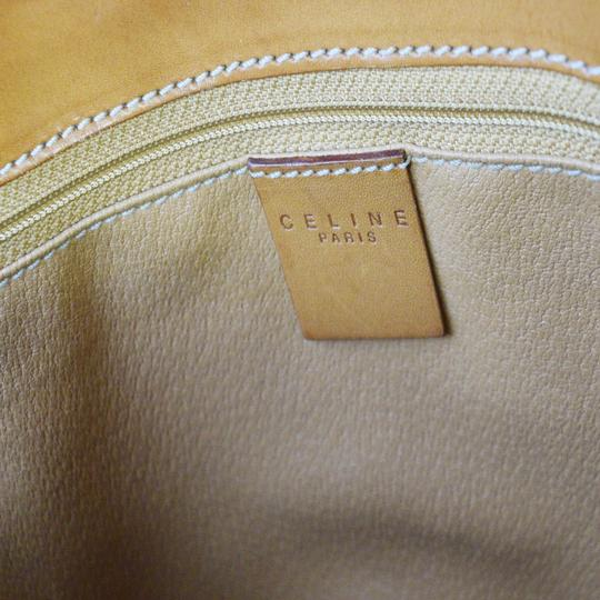 Céline Made In Italy Tote in Brown Image 10