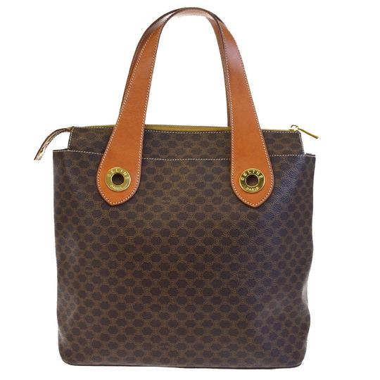 Céline Made In Italy Tote in Brown Image 2