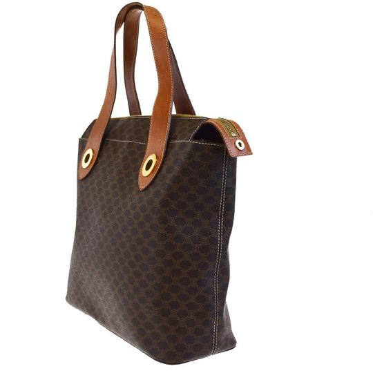 Céline Made In Italy Tote in Brown Image 3