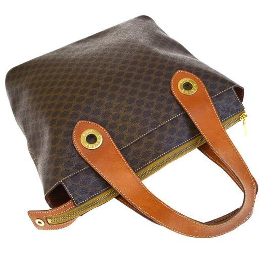 Céline Made In Italy Tote in Brown Image 4