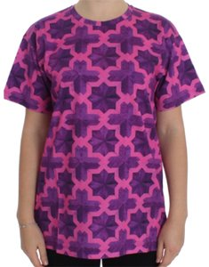 House of Holland Bg-sig20601 T Shirt Pink Purple