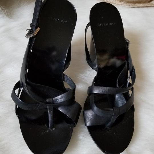 Givenchy Black Sandals Image 7